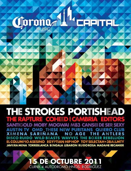 Corona Capital 2014 Logo Poster-corona-capital-2011