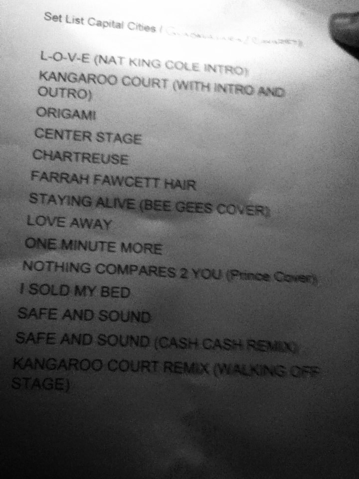 setlist-capital-cities