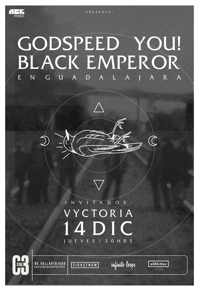 Godspeed You Black Emperor En Guadalajara 14 De Diciembre